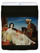 Odalisque Duvet Cover by Francois Leon Benouville