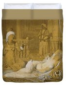 Odalisque With Slave Duvet Cover