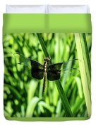 Odanate With Wings Spread Duvet Cover