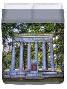Odd Fellows Memorial Duvet Cover