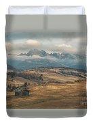 Odle Mountains - Alpe Di Siusi Duvet Cover