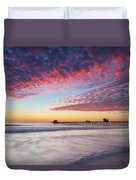 Of Milk Shakes And Cotton Candy Duvet Cover
