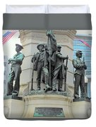 Of Soldiers And Sailors Duvet Cover