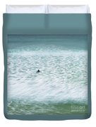 Off To Catch A Wave Duvet Cover
