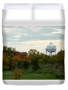 Off The Green-golf Course Duvet Cover