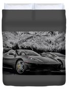 Off The Track Duvet Cover