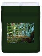 Office Art Fern Green Forest Ferns Giclee Prints Baslee Troutman Duvet Cover
