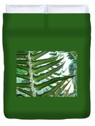 Office Art Ferns Green Forest Fern Giclee Prints Baslee Troutman Duvet Cover