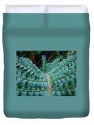 Office Art Forest Ferns Green Fern Giclee Prints Baslee Troutman Duvet Cover