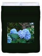 Office Art Hydrangea Flowers Blue Giclee Prints Floral Baslee Troutman Duvet Cover