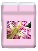 Office Art Lily Flower Giclee Prints Pink Lilies Baslee Troutman Duvet Cover