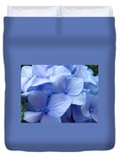 Office Art Prints Blue Hydrangea Flowers Giclee Baslee Troutman Duvet Cover