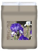 Office Art Prints Irises Flowers 46 Iris Flower Giclee Prints Baslee Troutman Duvet Cover