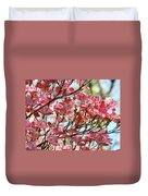 Office Art Prints Pink Flowering Dogwood Trees 18 Giclee Prints Baslee Troutman Duvet Cover