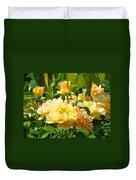 Office Art Rose Garden Giclee Prints Roses Baslee Troutman Duvet Cover