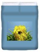 Office Art Sunflower Opening Summer Sun Flower Baslee Troutman Duvet Cover