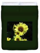 Office Art Sunflowers Art Prints Sun Flower Baslee Troutman Duvet Cover