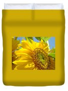 Office Art Sunflowers Giclee Art Prints Sun Flowers Baslee Troutman Duvet Cover
