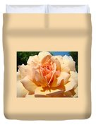 Office Artwork Roses Peach Rose Flower Giclee Baslee Troutman Duvet Cover