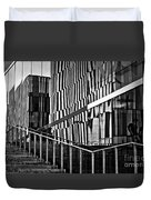 Office Buildings Reflections Duvet Cover