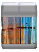 Office Colors Duvet Cover