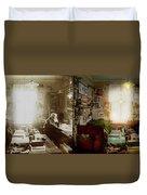 Office - Ole Tobias Olsen 1900 - Side By Side Duvet Cover
