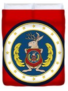 Official Odd Squad Seal Duvet Cover