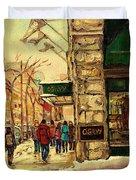 Ogilvys Department Store Downtown Montreal Duvet Cover