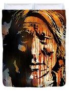 Oglala Warrior Duvet Cover
