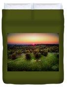 Oglebay Lights Duvet Cover