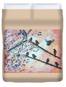 Oh Birdy Duvet Cover