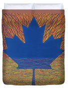Oh Canada 2 Duvet Cover