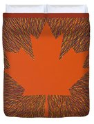 Oh Canada 5 Duvet Cover