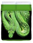 Oh So Green Viper Duvet Cover