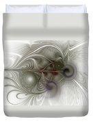Oh That I Had Wings - Fractal Art Duvet Cover