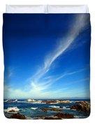 Oh The Beauty  Monterey Peninsula Ca  Duvet Cover