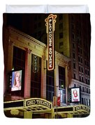 Ohio And State Theaters Duvet Cover