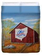 Ohio Bicentennial Barns 22 Duvet Cover