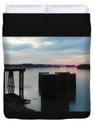 Ohio River View Duvet Cover