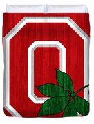 Ohio State Wood Door Duvet Cover