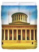 Ohio Statehouse Duvet Cover