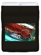 Oil And Water 23 Duvet Cover
