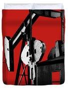Oil Well Pump #4 Duvet Cover
