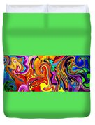Oily Abstract Duvet Cover
