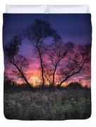 Ojibway Sunset Duvet Cover