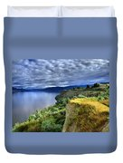Okanagan Lake On A Thursday Duvet Cover