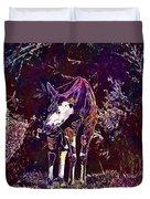 Okapi Okapia Mondonga Mammals  Duvet Cover