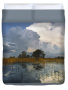 Okavango Delta Evening Duvet Cover