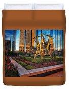 Oklahoma City Art Duvet Cover