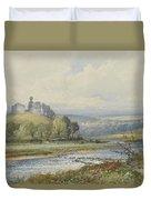 Okehampton Castle Duvet Cover